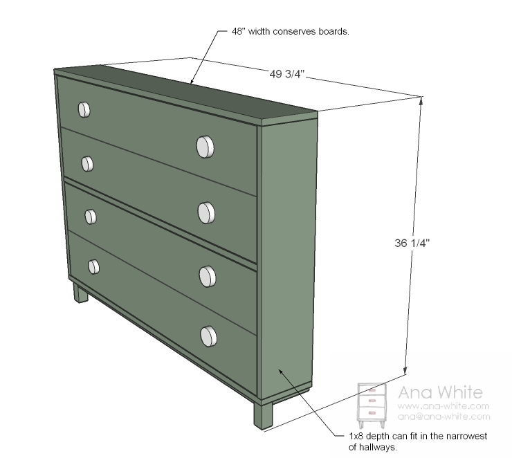 Ana White Shoe Dresser Diy Projects