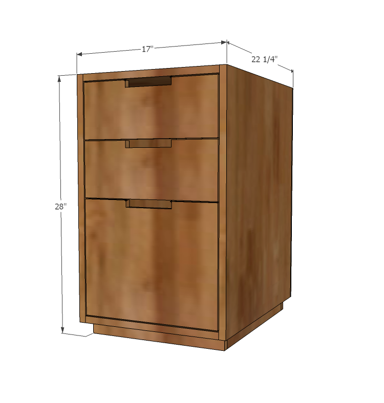 Cabinet Plans Free: Made With PureBond Formaldehyde