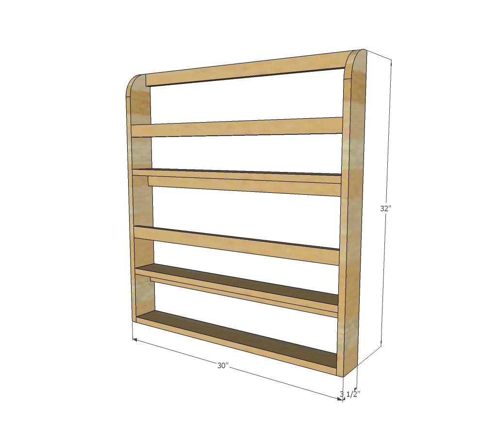 Under cabinet plate rack plans free - Dimensions Wooden Plate Rack