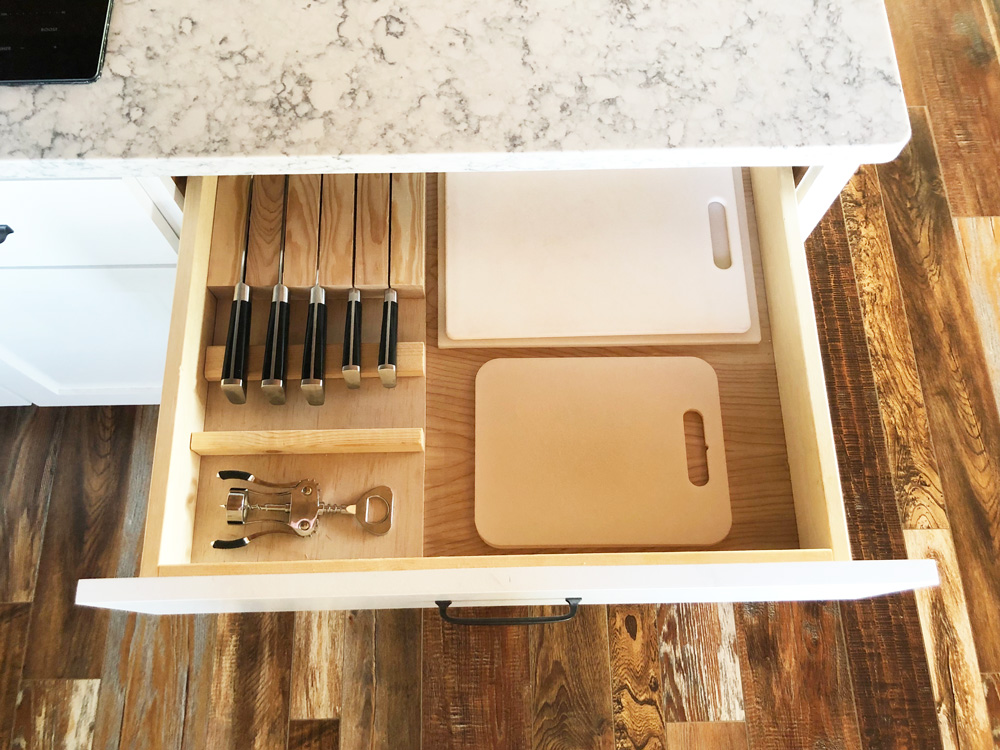 in drawer knife block plans