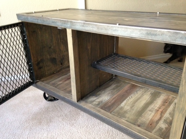 Excellent Ana White | Industrial Media Console - DIY Projects QA36