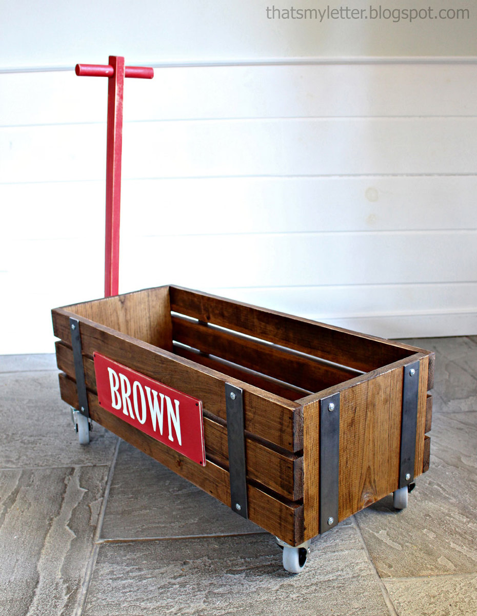 Beautiful Wood Wagon For Children Style
