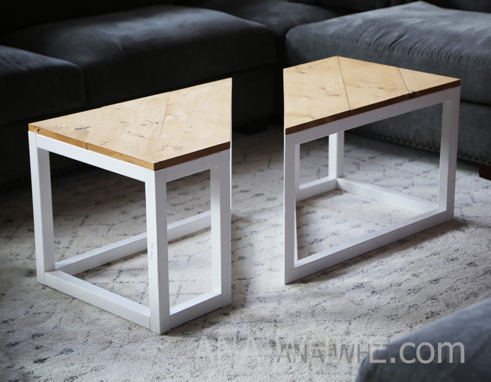 Surprising Split Industrial Coffee Table Ana White Ocoug Best Dining Table And Chair Ideas Images Ocougorg