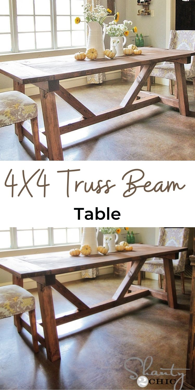 Truss Beam Table