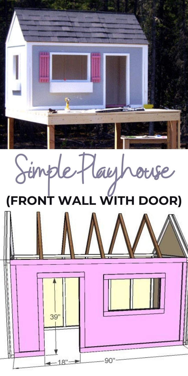 Simple Playhouse DIY
