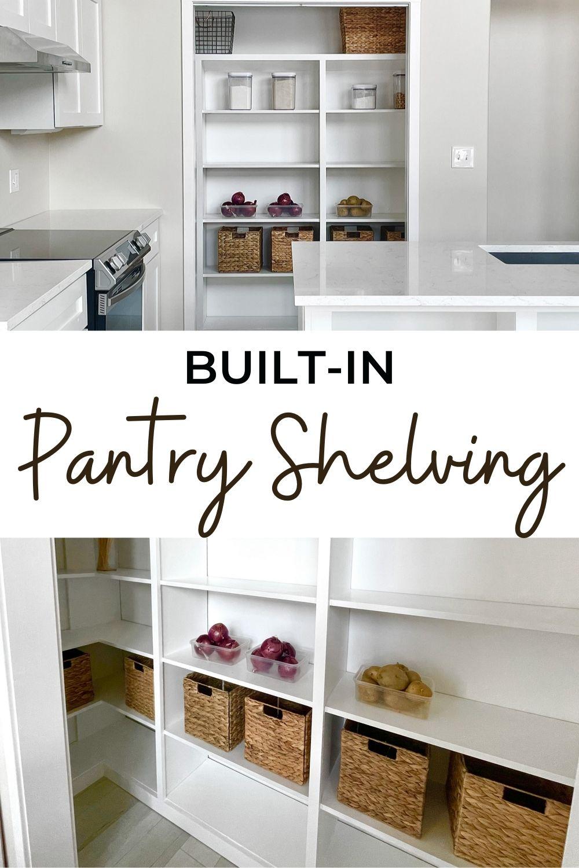 Built Pantry Shelving