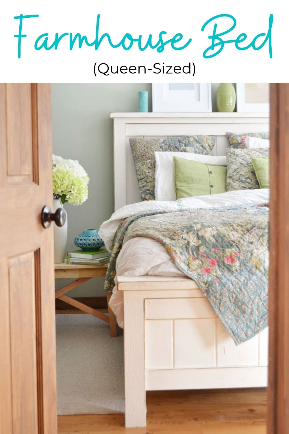Queen Size Farmhouse Bed