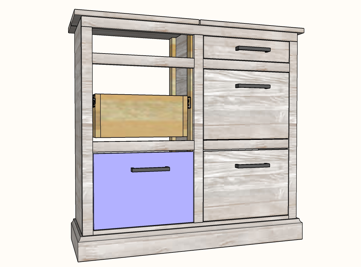 how to install drawer faces