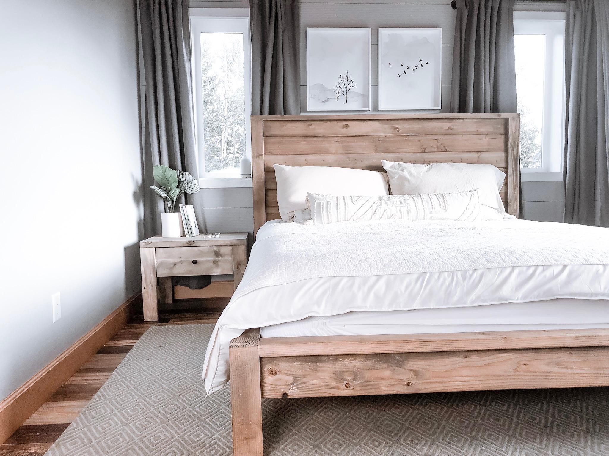 Modern Farmhouse Bed Frame   Ana White