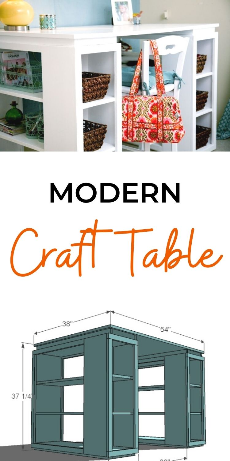 Modern Craft Table