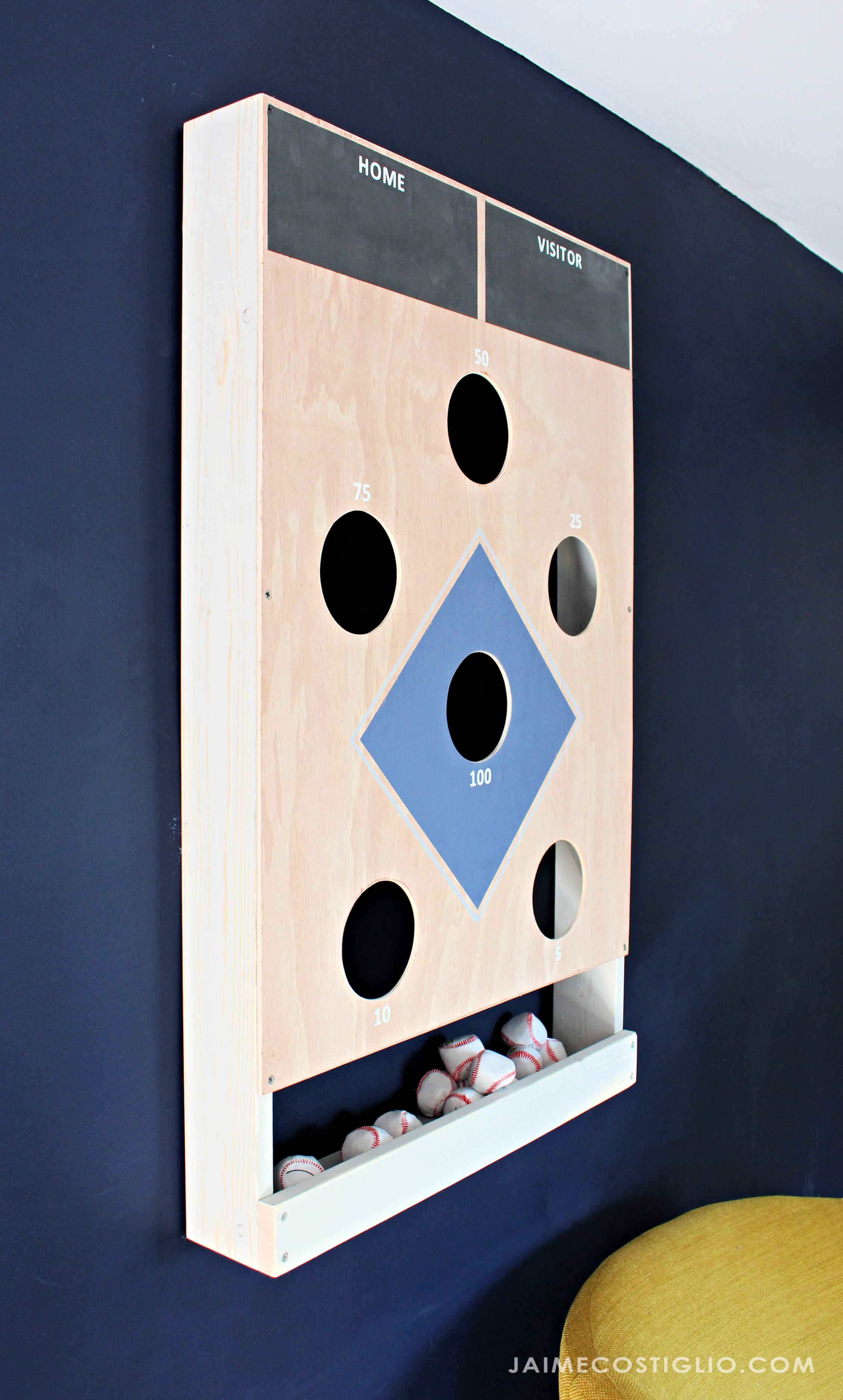 bean bag baseball toss game