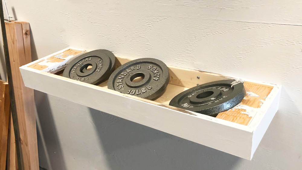 floating shelf strength