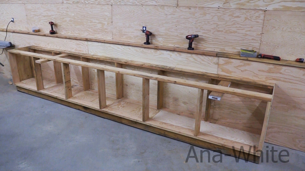 easy to build workbench plans