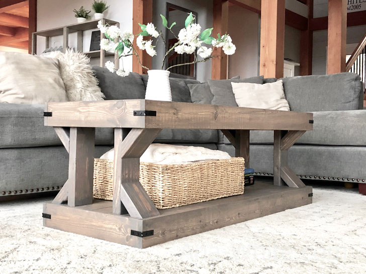 Coffee Table Modern Farmhouse Collection Ana White