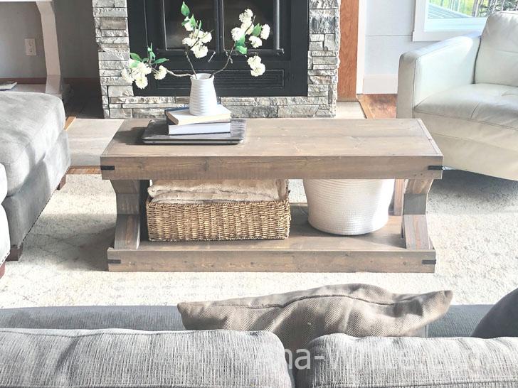 Coffee Table Modern Farmhouse Collection Ana White