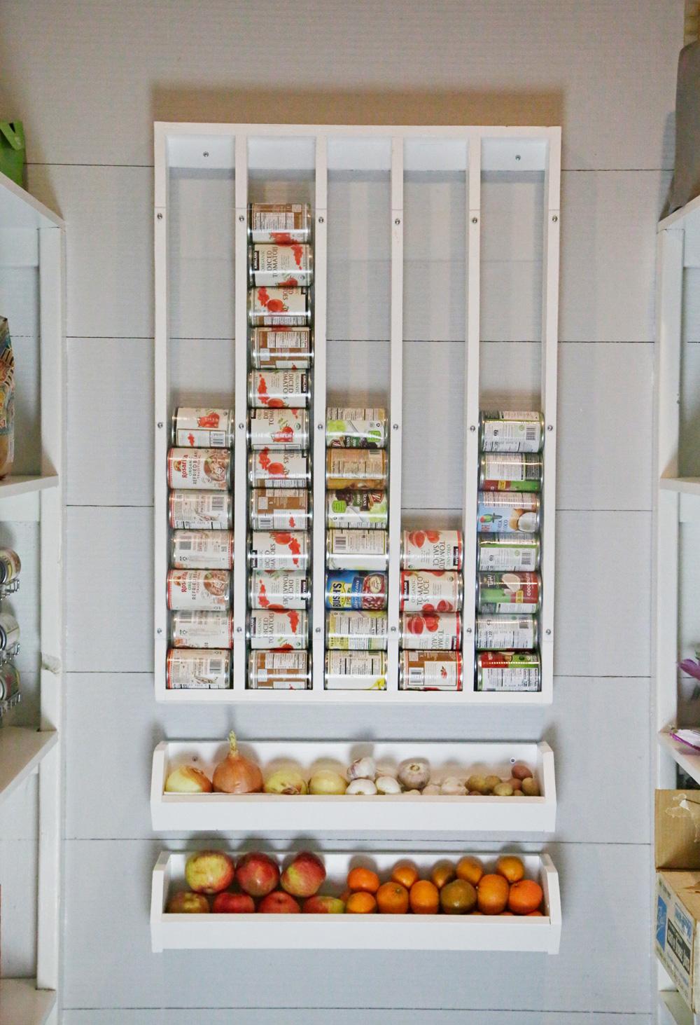 Vegetable Storage Potato And Onion Bin Wall Mounted