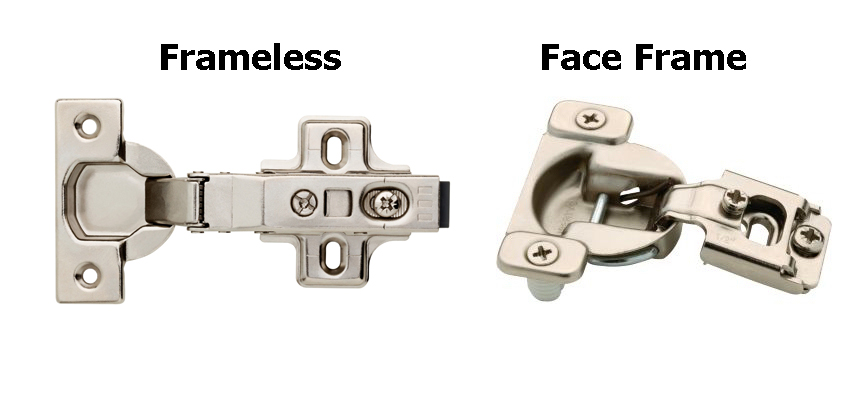 types of concealed hinges