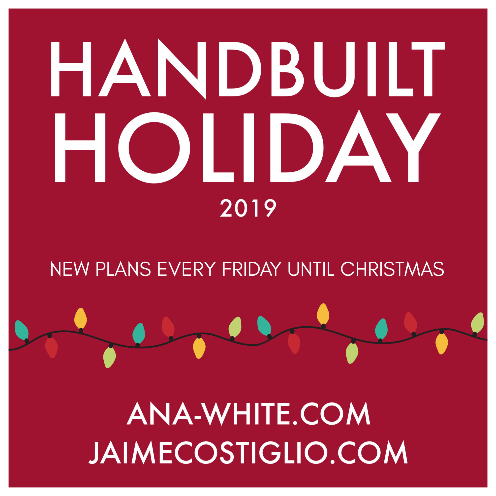 handbuilt holiday