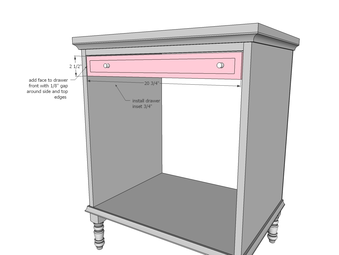 ana white emily nightstand diy projects step 7 instructions