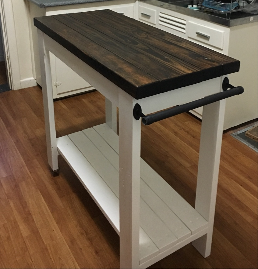 Kitchen Island Trolley - DIY Projects