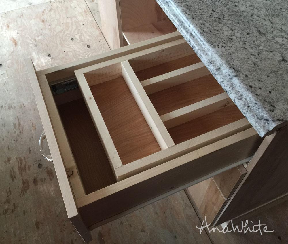 Kitchen Drawer Organizer - Adding a Double Drawer to ...