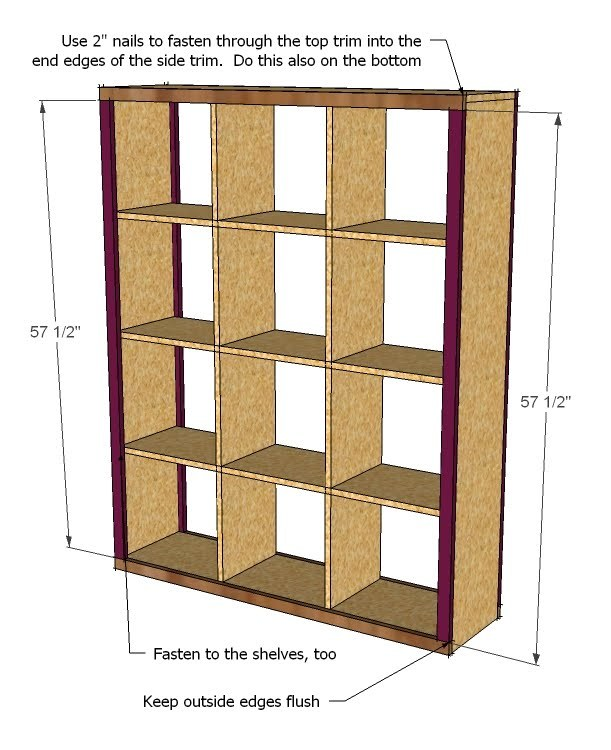 Woodwork How To Build Box Shelves Pdf Plans