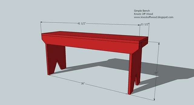 ana white 5 board bench diy projects