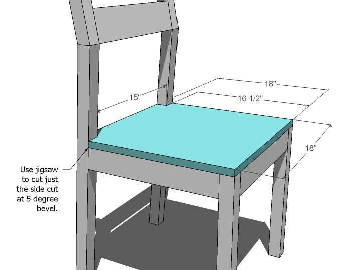 Kitchen Chair Back Angle In Degrees