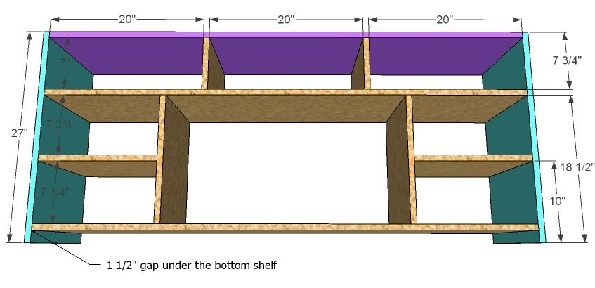 Diy Corner Tv Cabinet Plans Woodguides
