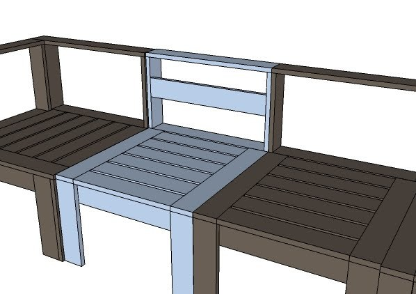 Diy Patio Sectional Plans. charming homemade patio ...