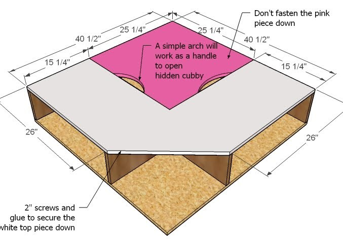 bye by log: More Free hide a bed plans