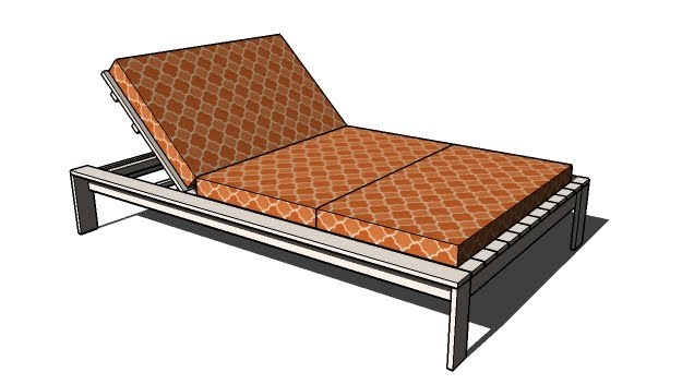 Woodworking p looking for simple ottoman plans for Build chaise lounge
