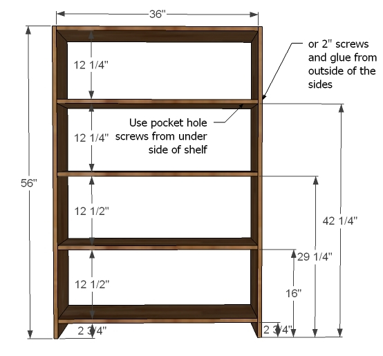 build wood bookcase plans | Fabulous Woodworking Projects