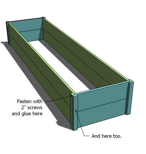 raised garden beds design.  Ana White 10 Cedar Raised Garden Beds DIY Projects