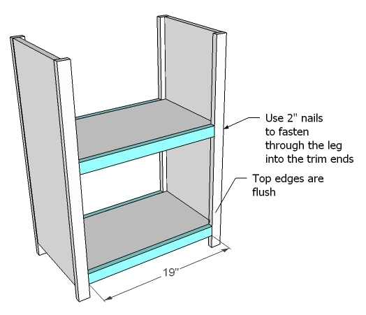 Simple Bookshelves, Tall/Thin