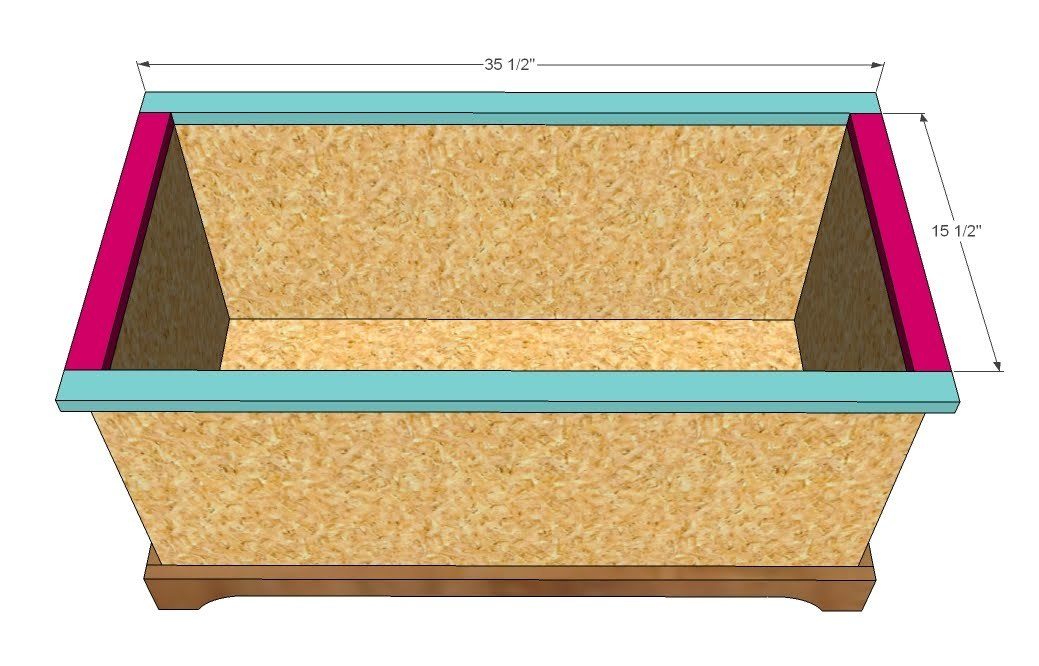 plans to build a child's toy box | Woodworking Camp and Plans