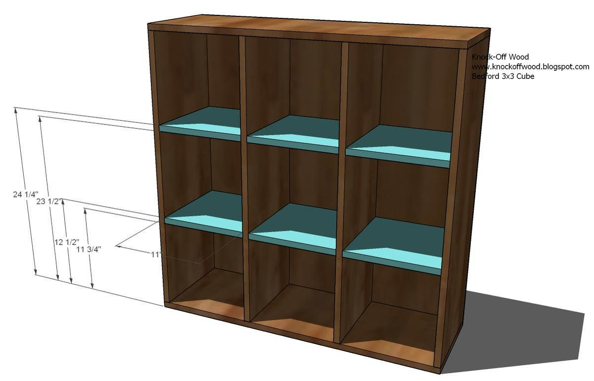 Cubby Bookcases Modular Office Collection
