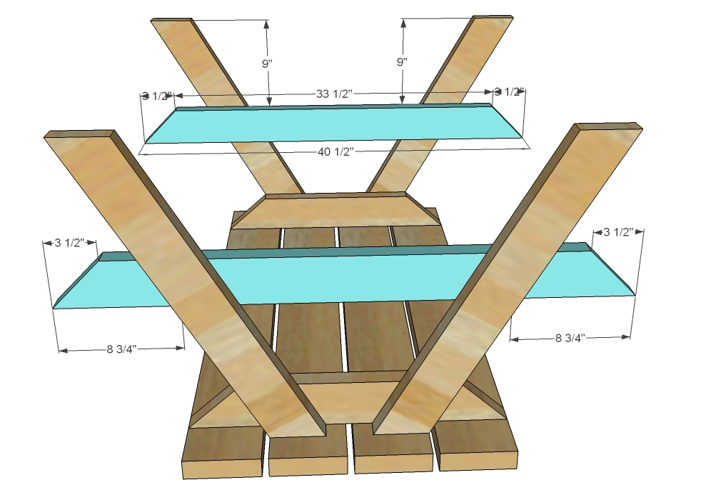 free plans for a wooden picnic table