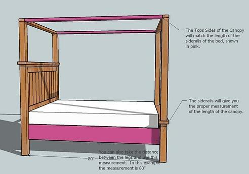 Download 4 poster bed plans do it yourself plans free for Diy poster bed
