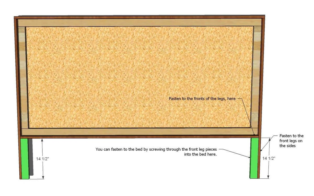how to build free upholstered headboard plans pdf plans