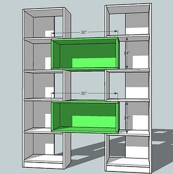 Sides Of Cubby Fasten The In Place As Shown Above Keep Outside Edges Flush
