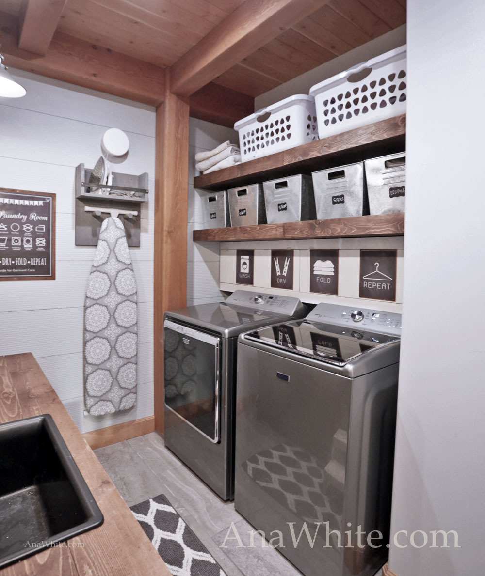 Laundry Room Design Top Load Washer