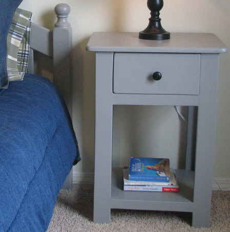 ana white | lee and beth's simple nightstands - diy projects Easy Home Nightstand