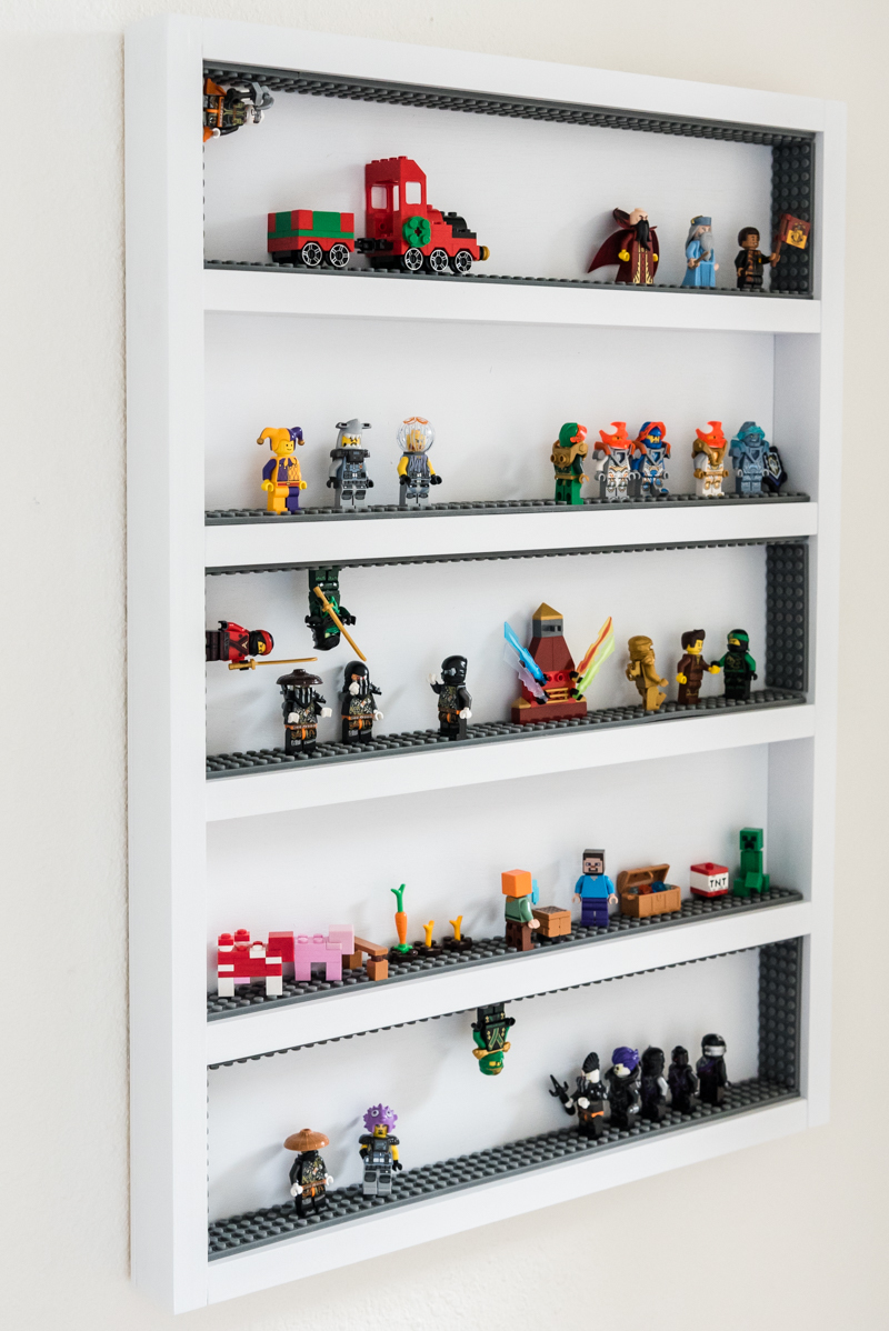 Lego Minifigure Display | Ana White