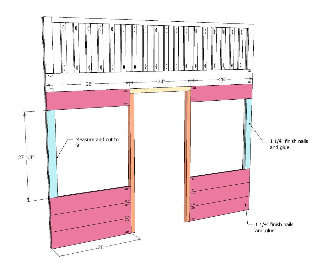 cottage loft bed free and easy diy project and furniture plans