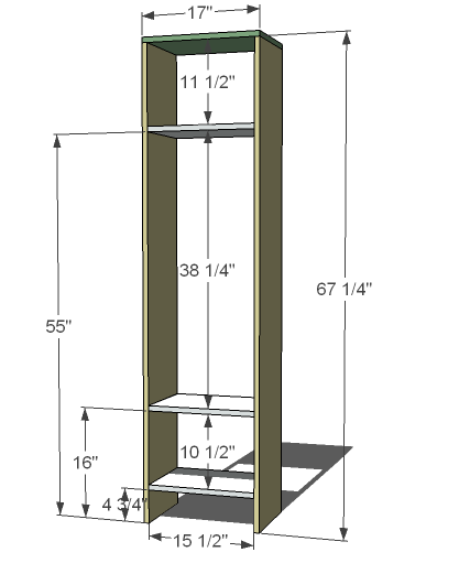 Diy wood locker plans plans free for Cost to build a mudroom