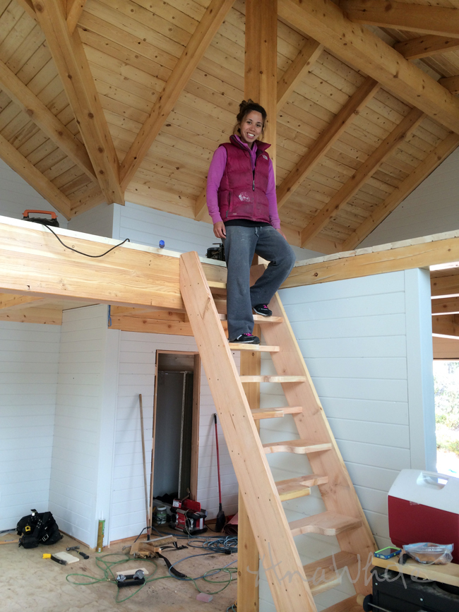 Build Cabin Plans With Loft Diy Pdf Wood Podium Plans Do: Tiny House Stairs - Spiral Storage Style - DIY