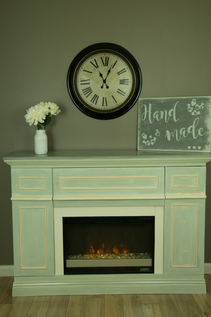 Ana White Faux Fireplace With Electric Insert Diy Projects