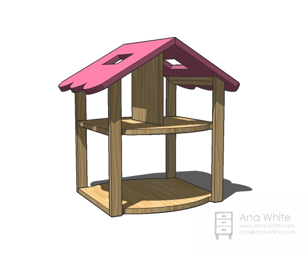 how to make a barbie house easy