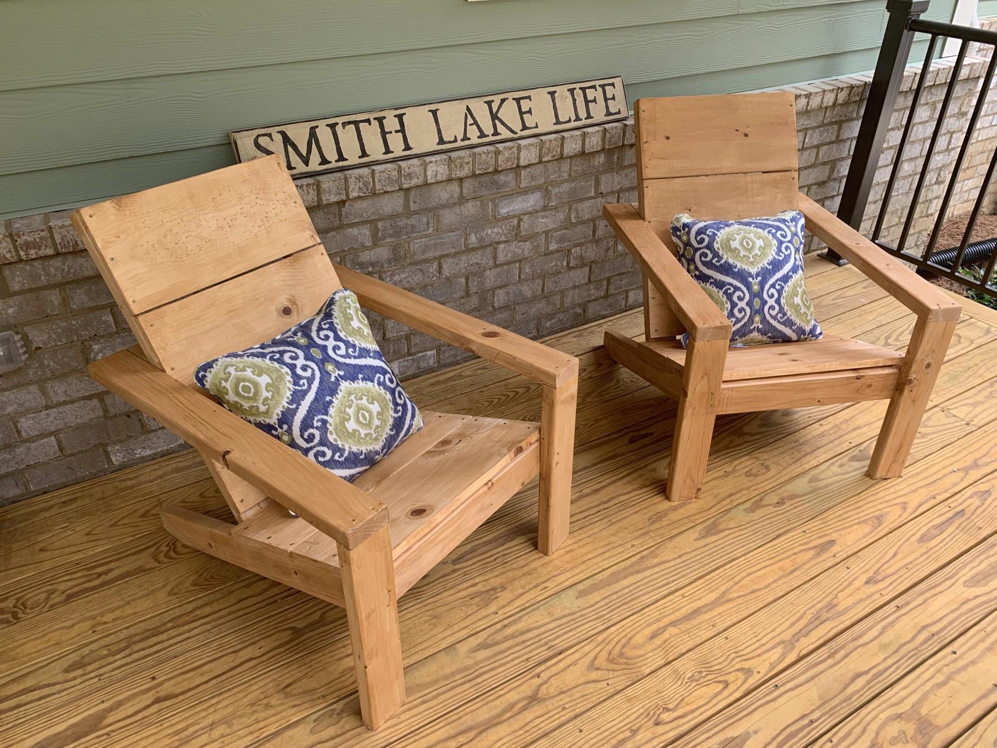 Adirondack Chairs Ana White